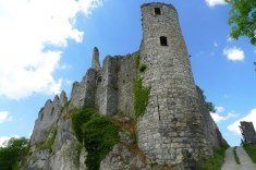 Les ruines de Montaigle